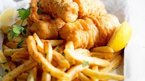 Cod Bites & Chips