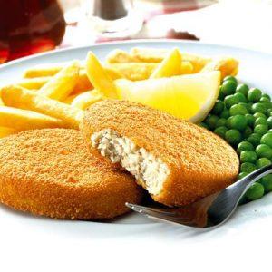 Fish Cake & Chips